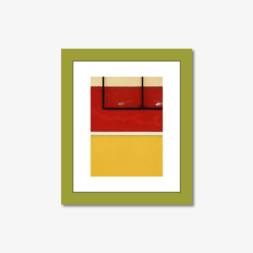 Tranh kính Colored Wall 32×27 (C)