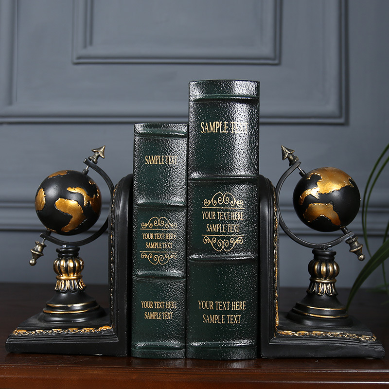 (Tiếng Việt) Globe Bookend